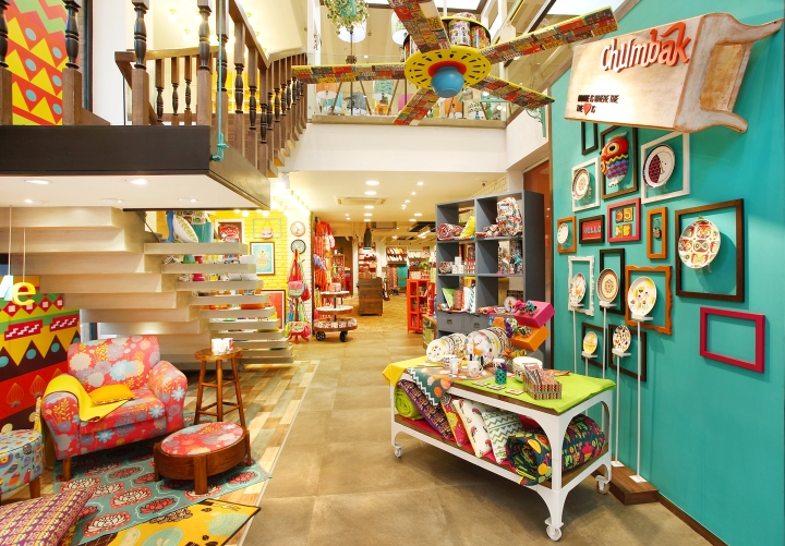 Home d cor a peek into chumbak sevenedges for Home interior decor stores