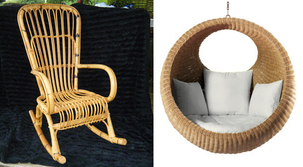 Creative and Cost Effective Cane Décor
