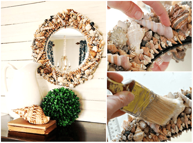 Easy & Simple DIY ideas for Mirror Frame Decorations