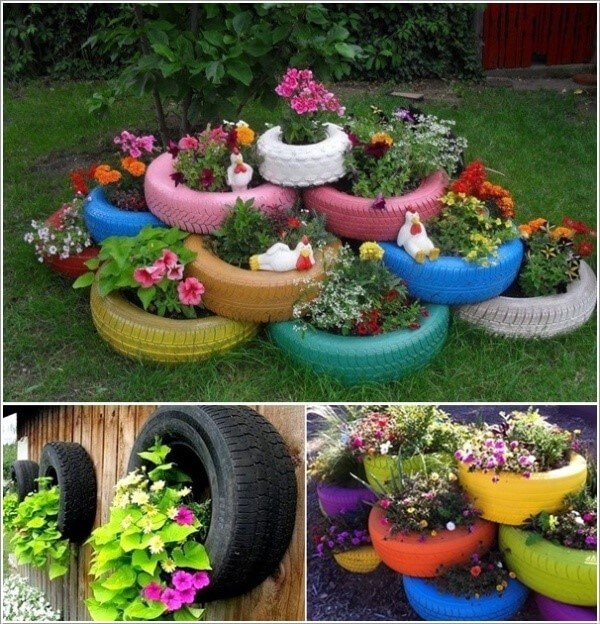 Unique Ideas to make your own UPCYCLED PLANTER