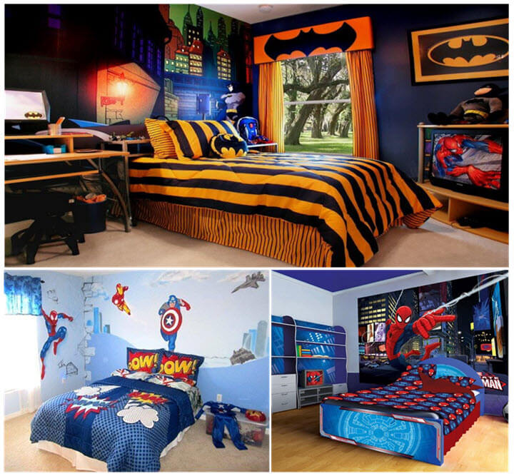 Creative Kids BEDROOM Décor themes for BOYS - Kids