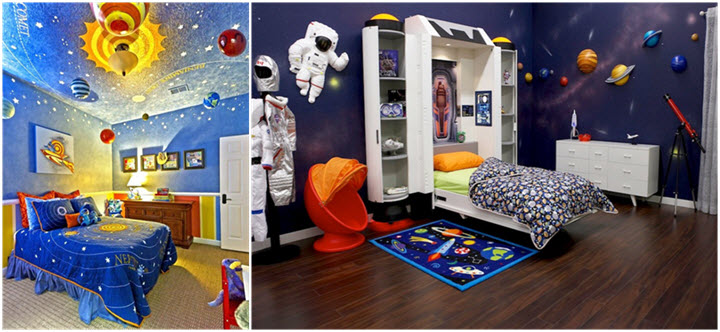 Bedroom Decor Themes creative kids bedroom décor themes for boys – sevenedges