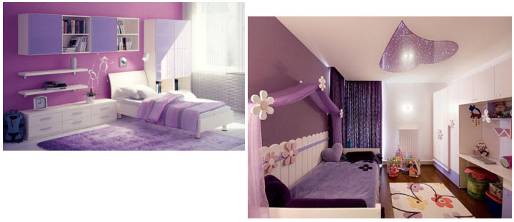 Purple Decor