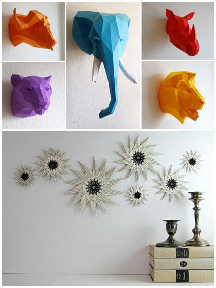 There Are Lots More With Origami To Make It An Uncommon Stand Out Decor Piece Check These Beautiful Ideas Decorate Your Slice Of Heaven