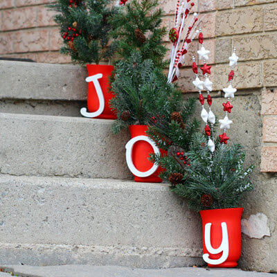 These Adorable Decors Can Also Be Personalized With Your Family Names To Make It More Special Christmas Decor