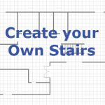 How to draw Stairs while drawing floorplan