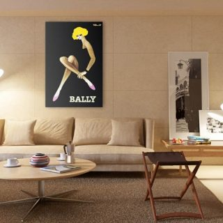Bally Posters Hues Integrate Perfect Mood to Interiors