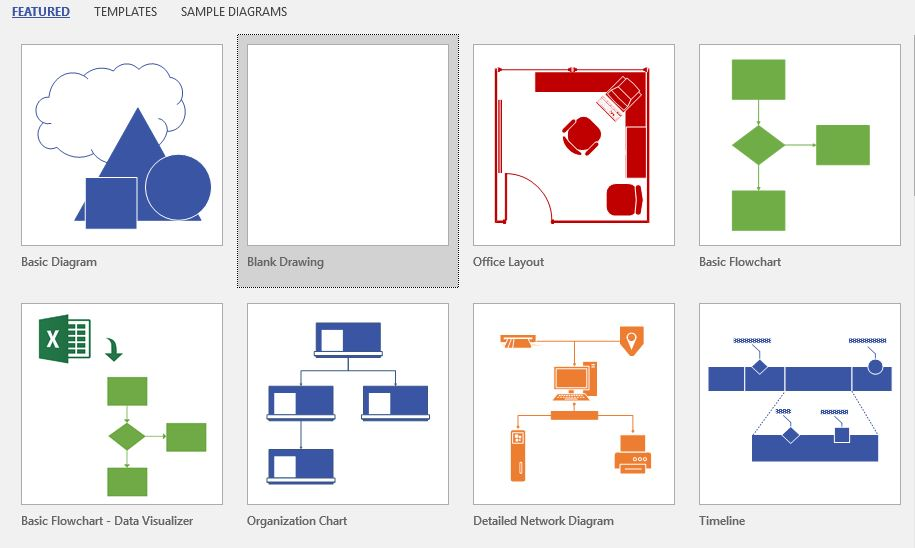 How to convert images to shape in microsoft visio 2016