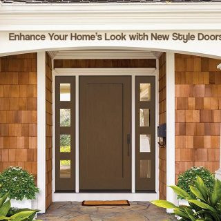 Enhance Your Home's Look with New Style Doors