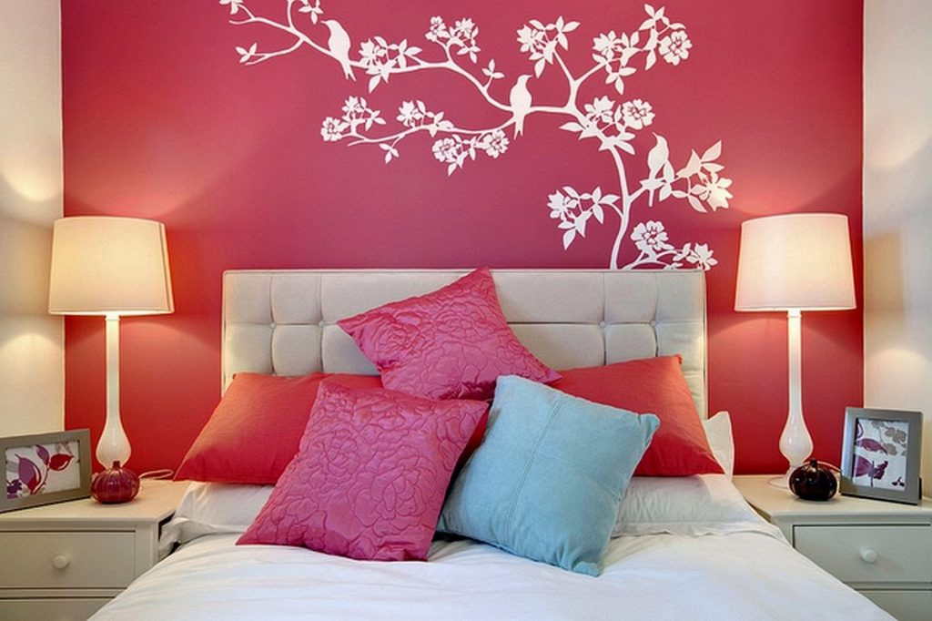 romantic interior design bedroom