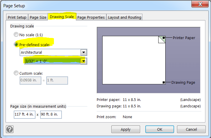 visio scaling issue