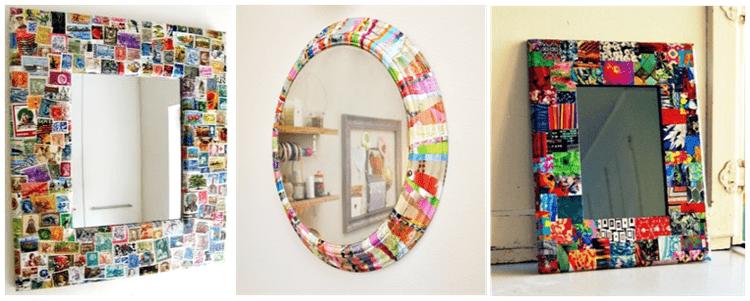 mirror frame decoration