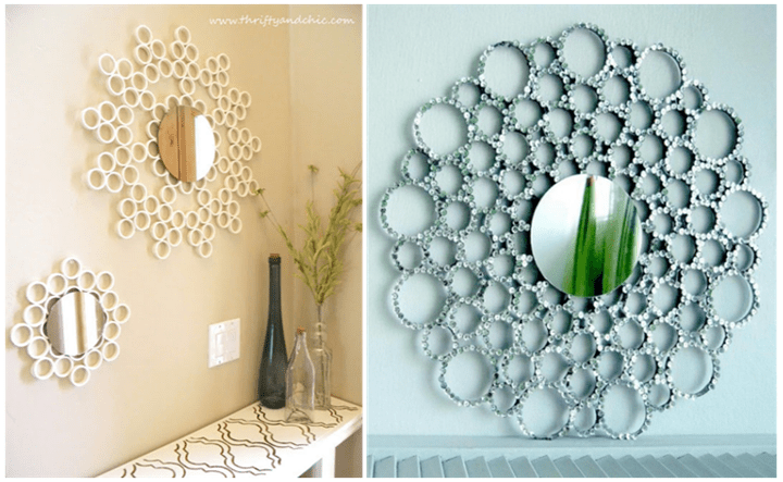 Easy Simple Diy Ideas For Mirror Frame Decorations