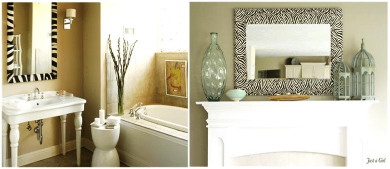 Easy & Simple DIY ideas for Mirror Frame Decorations - DIY