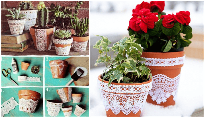 How to Pep up your Terracotta Pots - Planters