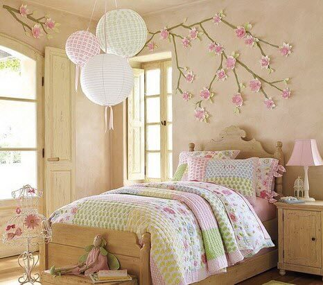 Wonderful Decor Ideas for Young Girls Bedroom