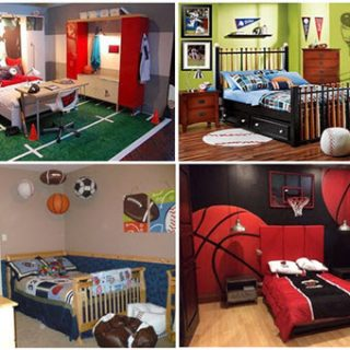 Creative Kids BEDROOM Décor themes for BOYS- Kids