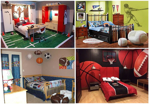 Creative Kids BEDROOM Decor themes for BOYS