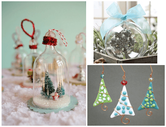Ornaments to Sparkle up your Christmas Tree - Xmas 2016