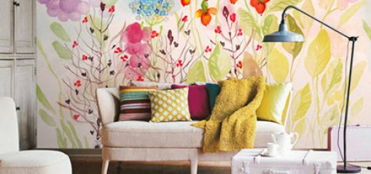 Colorful Beauty Clash at Home - Water Color Decor