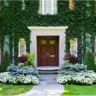 Attract Positive Energy to your Front Entrance