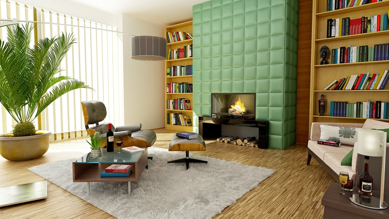 Merge Wall Colors with Your Green Decor