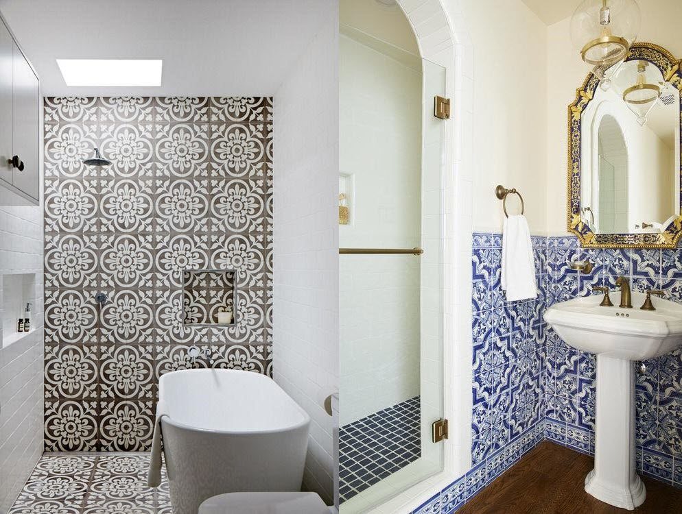 6 Best Tiles To Use For Bathroom Floors