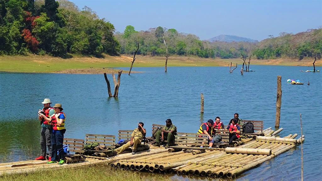 Thekkady Bamboo Rafting