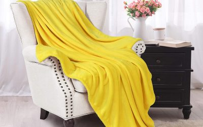 Citrus Throw Blanket to Add Color to Your Room