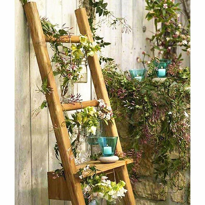 Eco friendly Ladder Wall Shelf