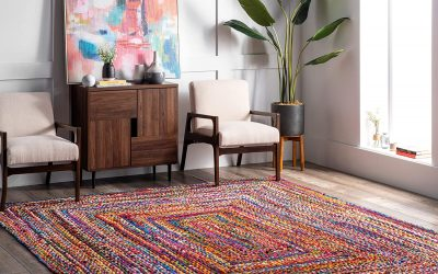 6 Eco Friendly Area Rugs to Brighten your House
