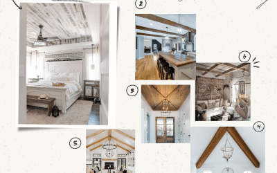 Try These Easy Farmhouse Ceiling Ideas