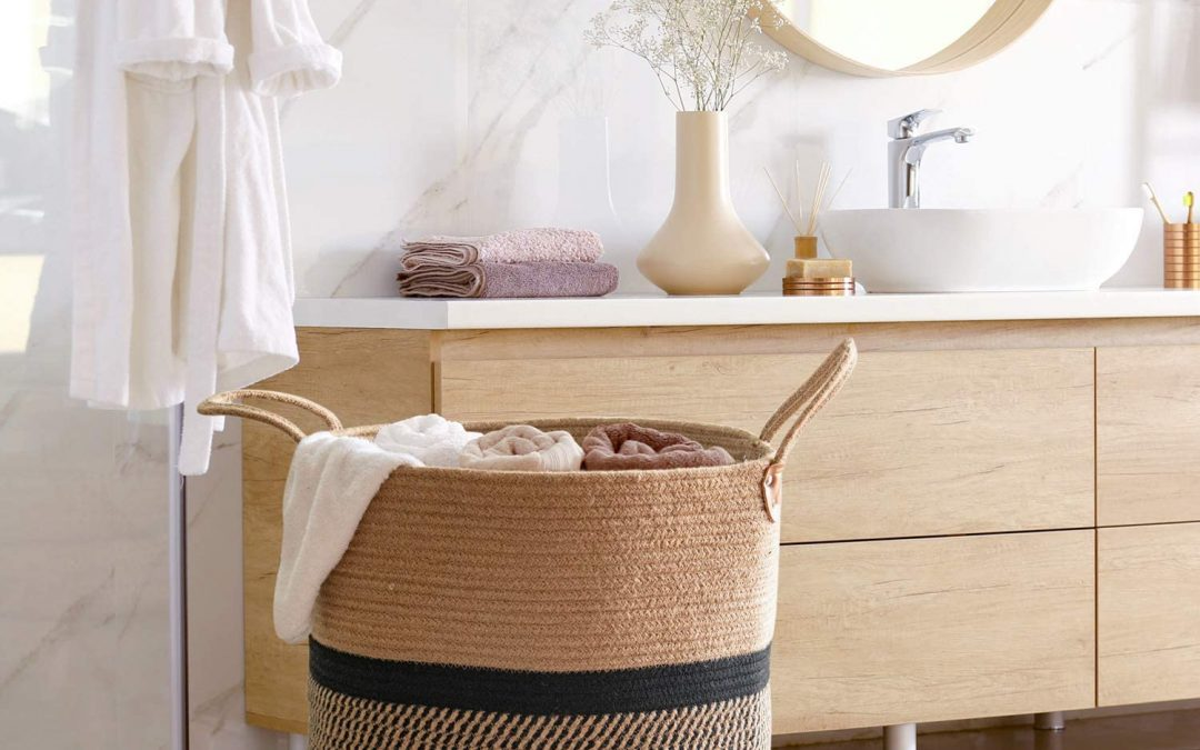 Environmentally friendly laundry baskets