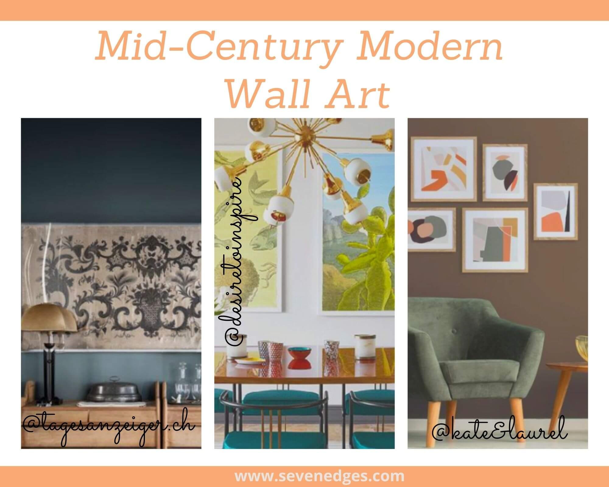 mid-century modern Wall Art