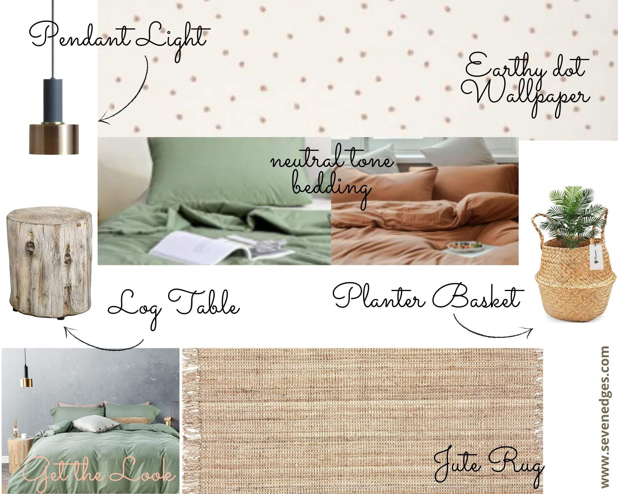 Earthy Neutrals Accessories