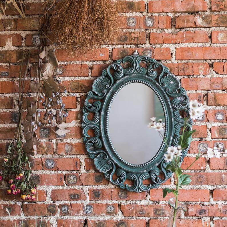 Small Antique Mirror