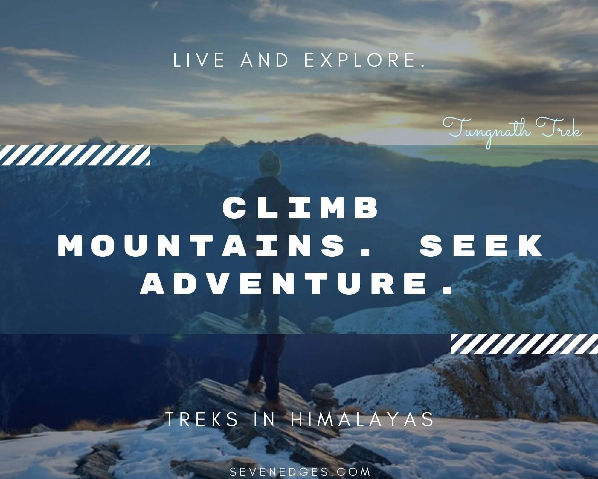 Treks in Himalayas