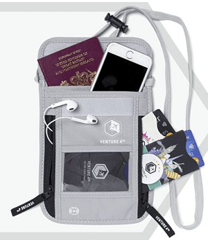 Neck Wallet for Travel