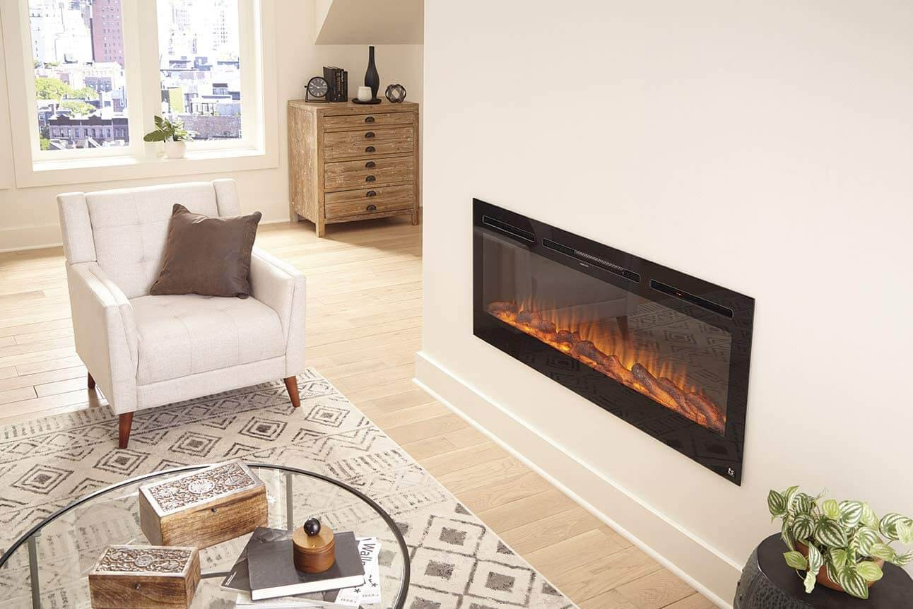 Sideline Electric Fireplace
