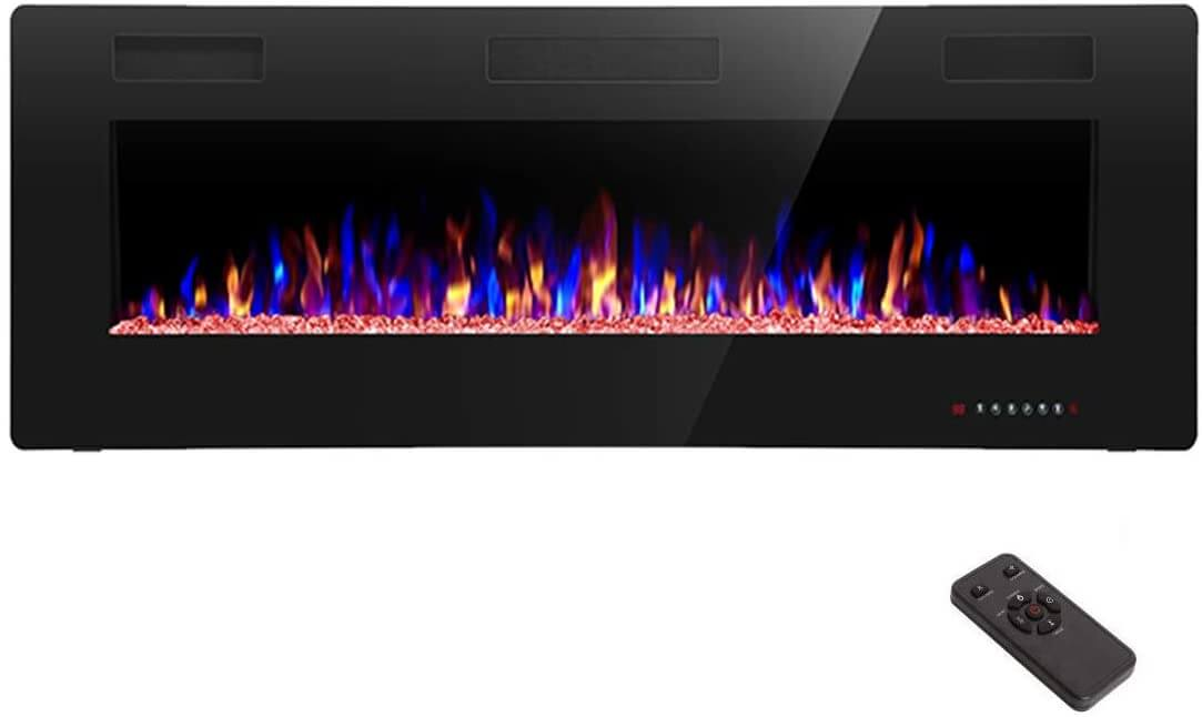 Thinnest Fireplace