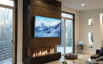 4 Modern Designs for Fireplaces