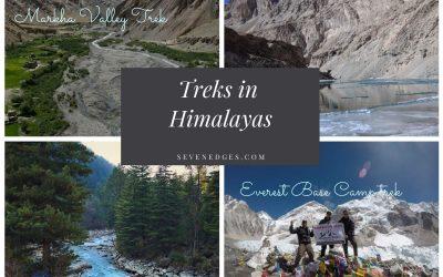 Top 6 Treks in Himalayas Everyone should Explore