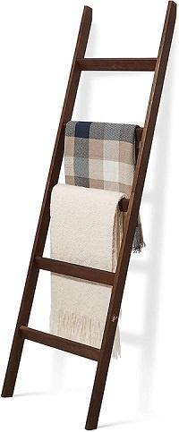 Farmhouse Style Blanket Ladder