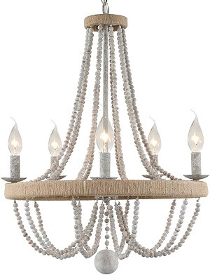 French Country Chandelier for Dinning Room