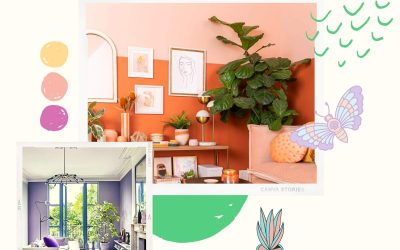3 Pastel Colors for Living Room