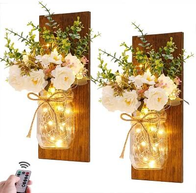 Rustic Wall Sconces for French Country Decor