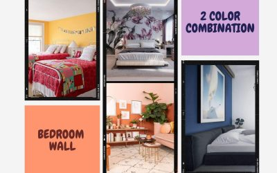 Top 5 Best Two Colour Combination for Bedroom Walls