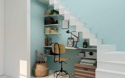 5 Functional Under Stairs Design Ideas