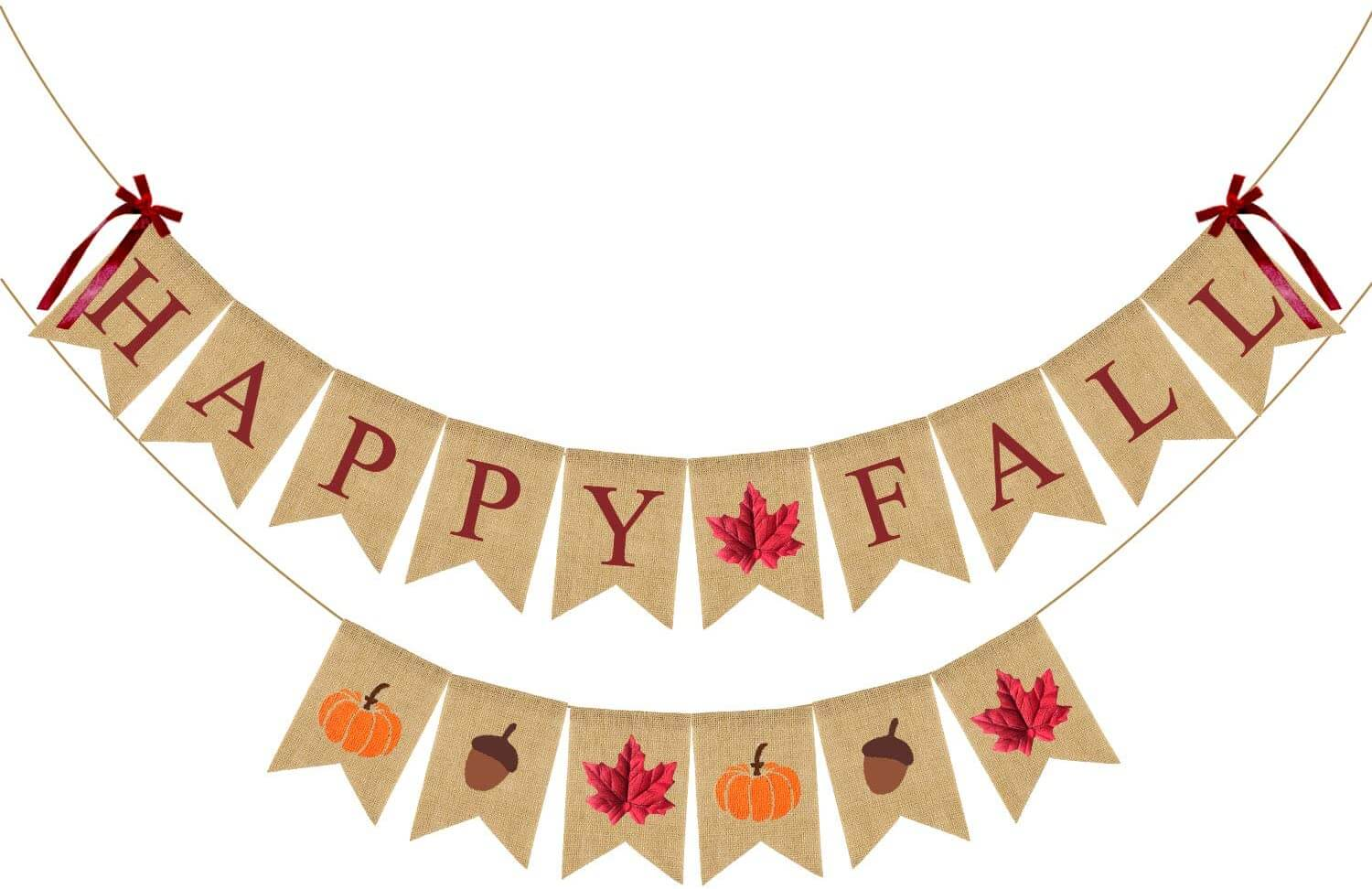 Happy Fall Banner Decorations