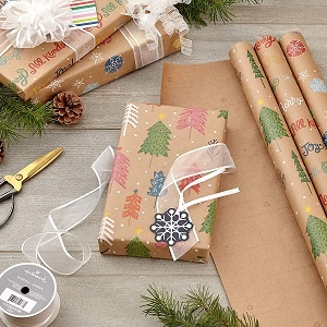 Sustainable Kraft Wrapping Paper